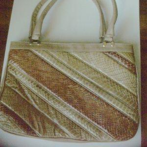 Real Snake Skin handbag (#EV619)